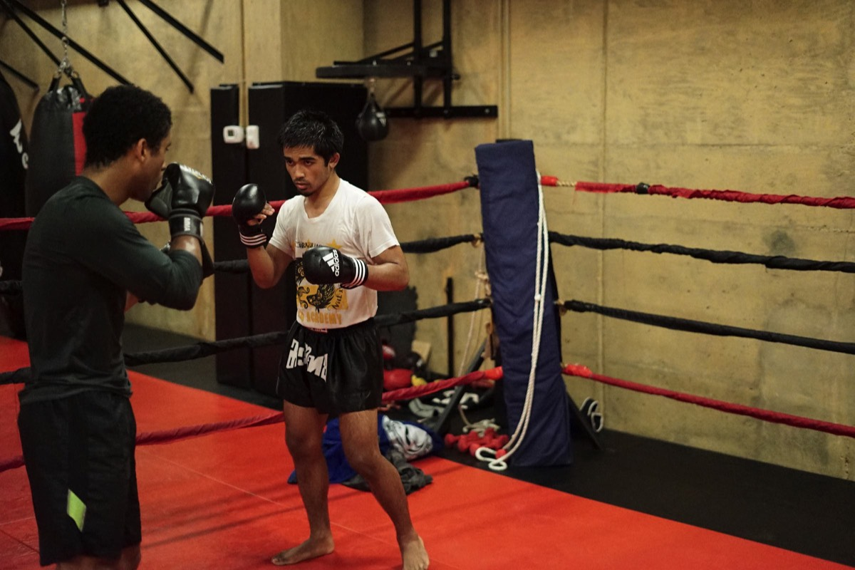 mma mixed martial arts sparring fight beta academy
